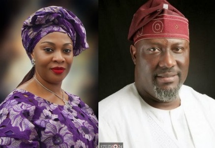 How Gbemi Saraki's Secret Romance With Dino Melaye Ruined Her Ministerial Ambition