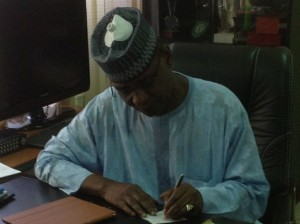 Confusion In Glass House As Maigari Resumes As NFF Boss