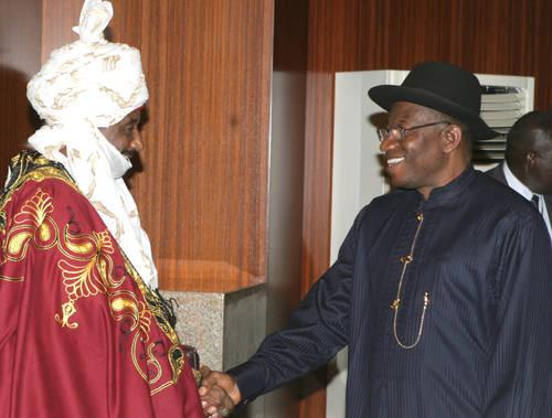 Jonathan, Sanusi In Secret Meeting