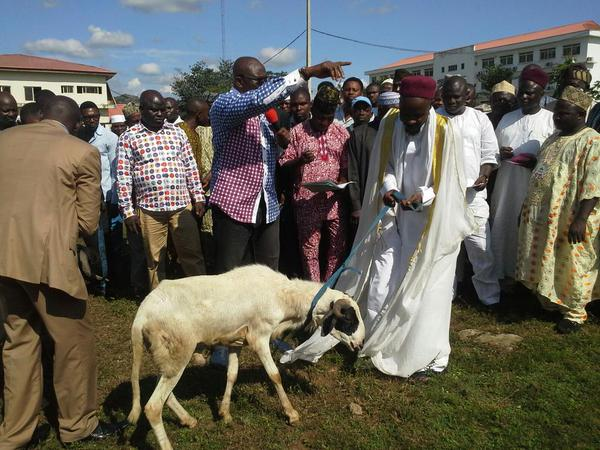 Clerics Receive Salah Rams From Fayose