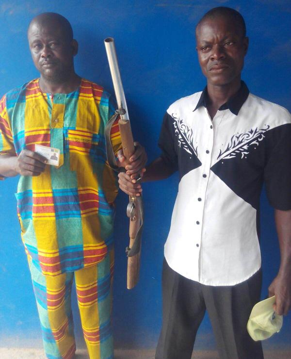 Revenue Collection: Touts Arrested With Gun, Police ID Card In Ogun