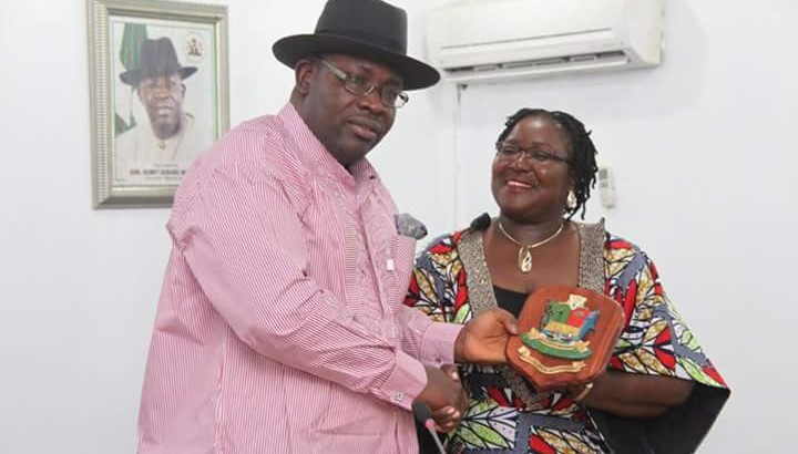 NDDC Boss Visits Dickson In Yenagoa