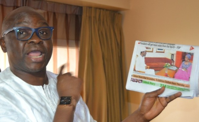 Buhari's Policies Insensitive, Wicked—Fayose