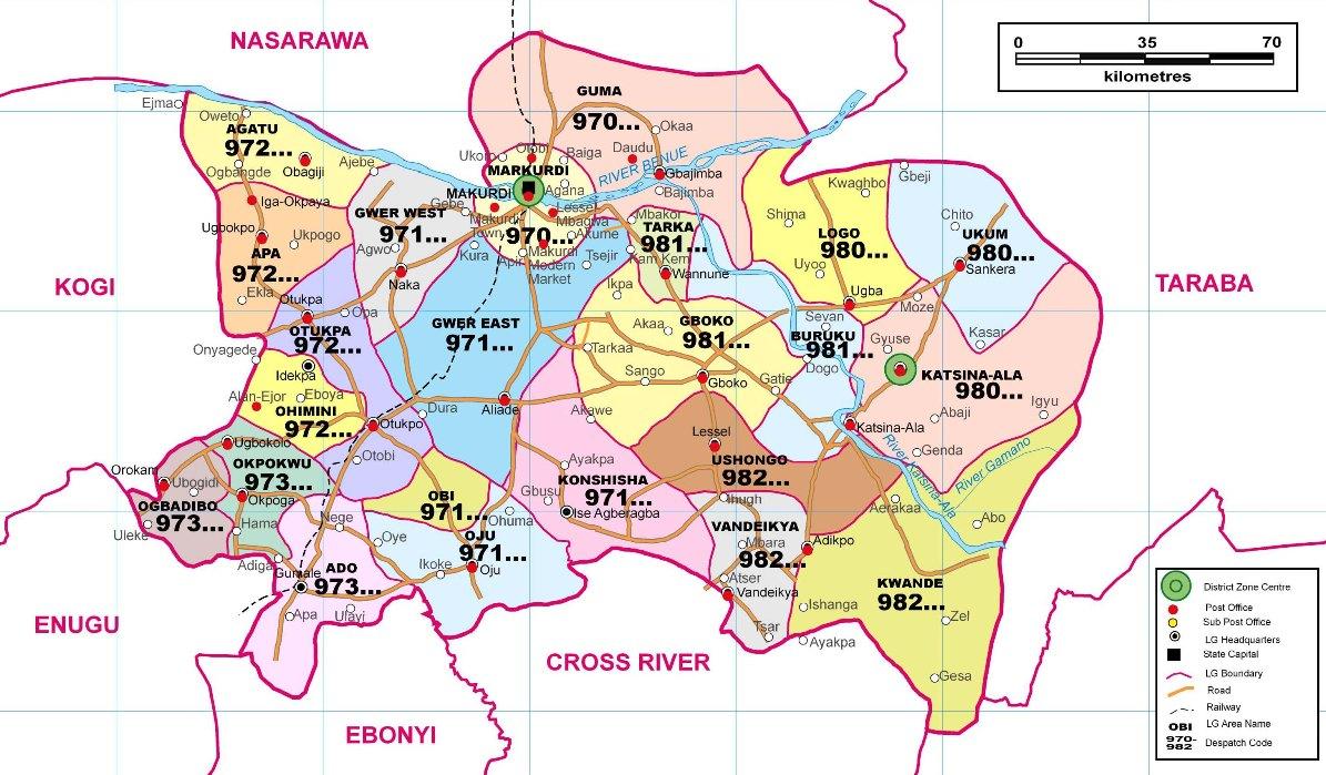 Makurdi postal code