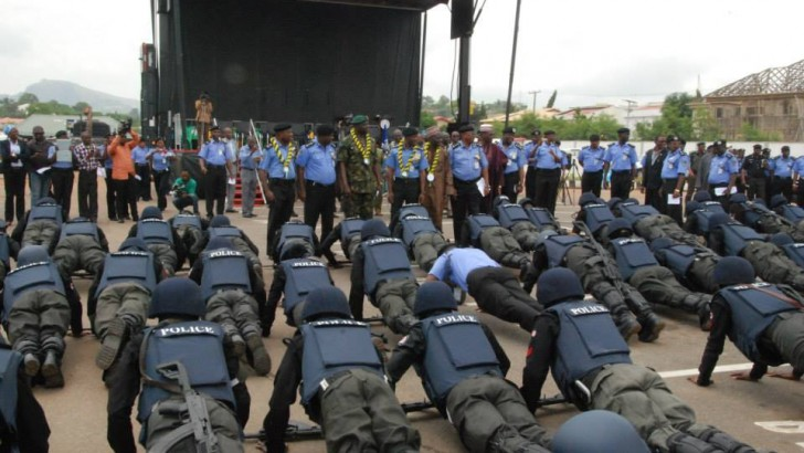 Over 800k Jostle For 10k Police Job
