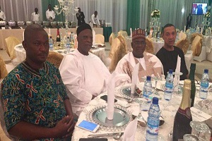 Ben Bruce Humiliated At Presidential Dinner