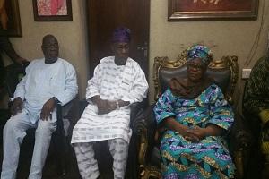 Obasanjo, Fasawe Visit Jafojo's Family