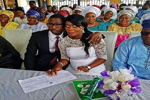 PHOTOS: Lola Idije's Daughter Weds In Lagos