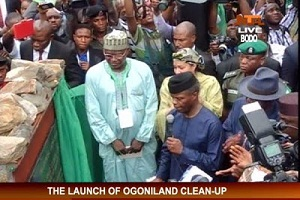 Osinbajo Flags Off Ogoni Cleanup