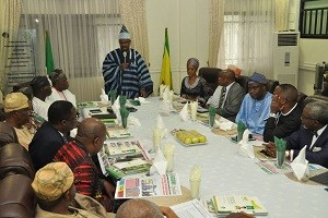 amosun meets private sector
