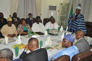 amosun meets private sector2