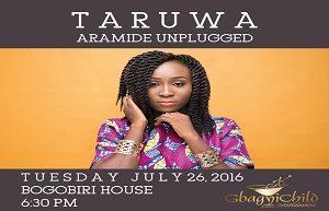 Aramide Headlines Taruwa Unplugged