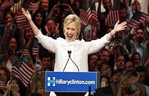 Clinton Officially Wins Democratic Nomination