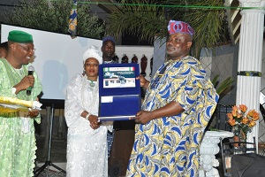 Lagos Speaker Delivers Report Of Constituency Meeting To Ambode