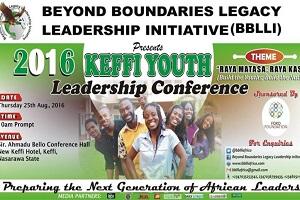 2016 Keffi Youth Leadership Conference Communiqué