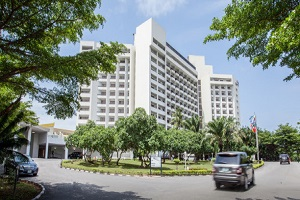 He booked, He stayed and was thrilled by his experience at Eko Hotel & Suites