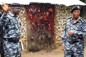 Pastor Knocked Unconscious While Attempting To Destroy Shrine In Ogun