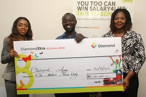 Diamond Bank Delights South-South Customers, Doles Out SUV, N25m