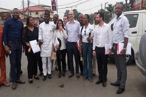 HP World Representatives Visits CAPDAN President, Ahmed Ojikutu