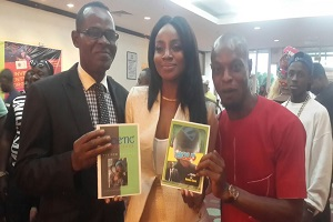 Celebrities Endorse Victor Edogun's Books
