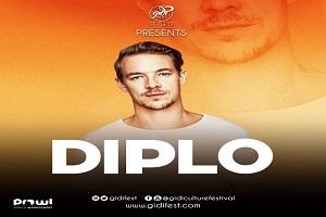 Diplo Joins Davido, Burna Boy At #GIDIFEST2017