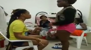 VIDEO: Confusion As Edo Girl Beats Friend To Coma