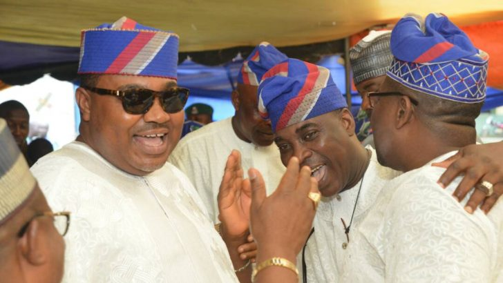 Fayose, K1, Others Grace Debodun Adebomi's High Octane Party For Late Mum
