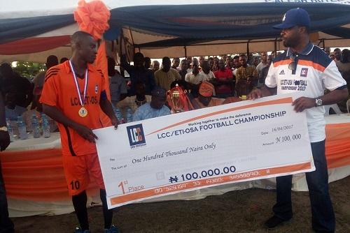 Pat FC Retain LCC/Eti-Osa Football Championship