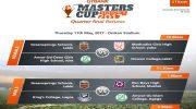 GTBank Masters Cup (Season 6) Quarter Finals Fixtures