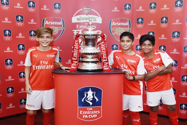 Arsenal Takes Emirates FA Cup To Dubai