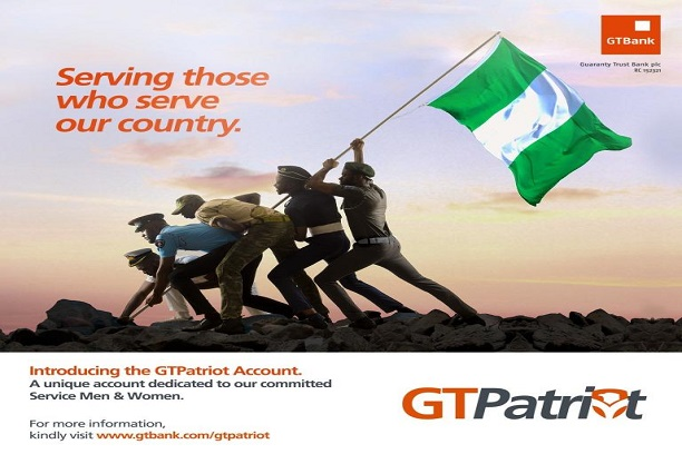 GTBank Creates GTPatriot Account for Military, Paramilitary Personnel