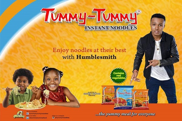 Humblesmith Renews Deal With Tummy-Tummy Noodles