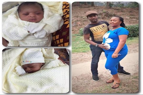 John Njamah, Wife Welcome Baby Girl On Wedding Anniversary