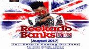 Reekado Banks Plans UK Music Tour In August