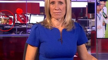 VIDEO: BBC Staff Watches Sèx Scene During Live News Broadcast