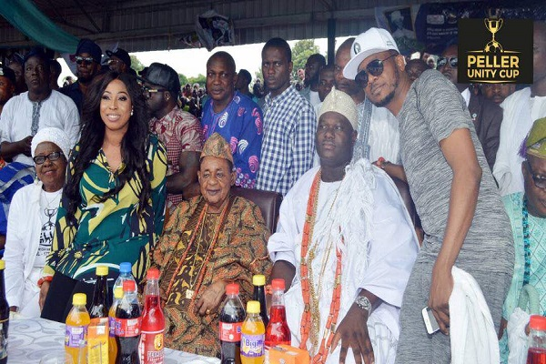 Ooni, Alaafin Of Oyo, K1, Others Honour Peller Unity Cup