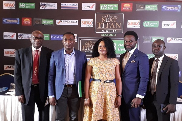 Heritage Bank Sponsors 4th Entrepreneur TV Show 'The Next Titans'