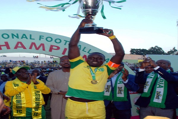 Governor Lalong and the Long Awaited NPFL Trophy