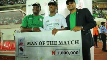 TGI Group Gives N1m to Super Eagles Player, Shehu Abdullahi