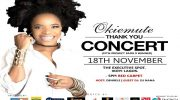 MTN Project Fame Star, Okiemute, Holds 'Thank You Concert' Next Saturday