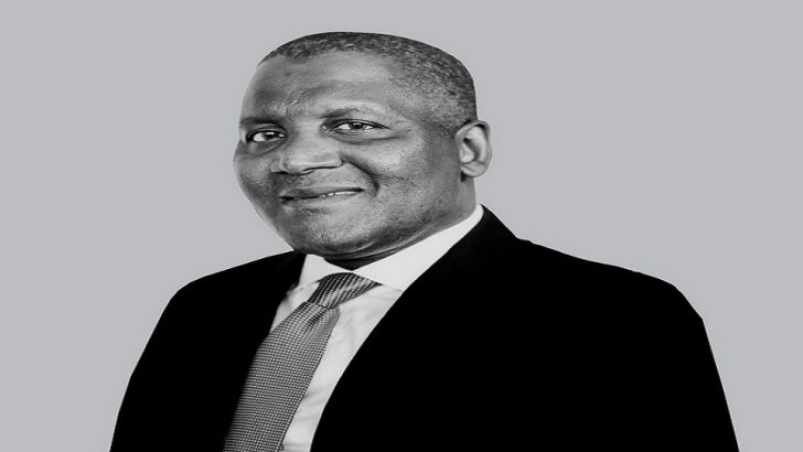 Bloomberg Names Dangote Only African in 50 Most Influential People List