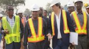 Dangote Inspects Apapa Road Project