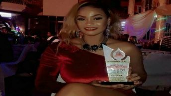 Sultry Actress, Priscilla Okpara, Picks 'Next Rated Actress Of The Year' Award