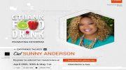 Food Network Star, Sunny Anderson, For GTBank Food and Drink Fair