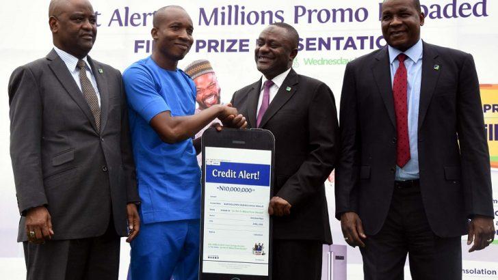 PHOTO: Fidelity Bank Customer Gets N10m Credit Alert