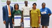 PHOTO: Two New Winners In Fidelity Bank Get Alert In Millions Reloaded Promo