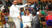 Chris Okafor Gives N22m To Widows In Lagos, Gets 2017 G-Wagon