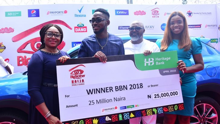 Heritage Bank Pledges Continuous Support For BBNaija
