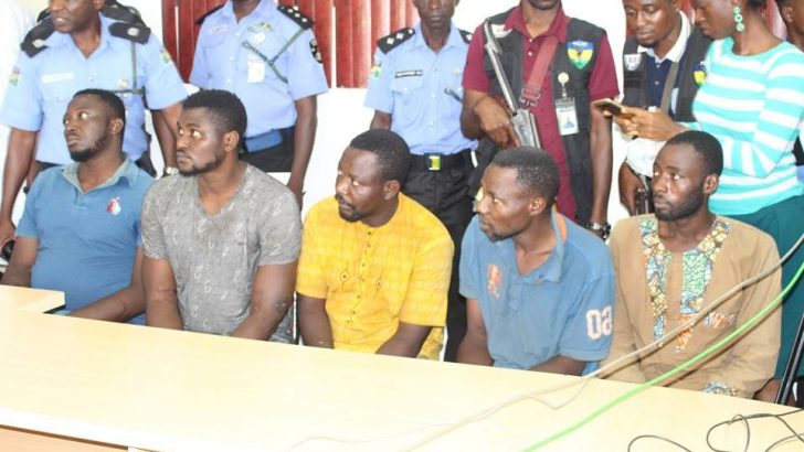 Group Tasks IGP To Handle Offa Bank Robbery Professionally