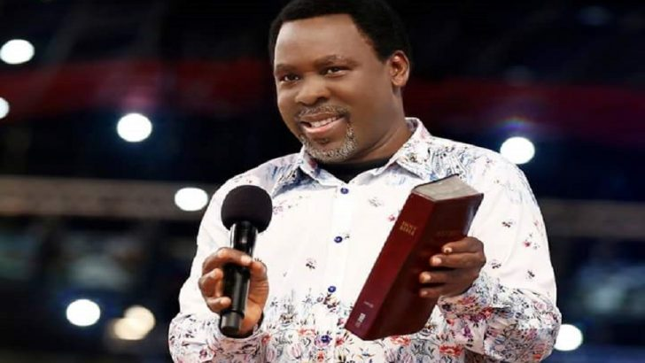 TB Joshua Calls Victims of 2014 Synagogue Collapsed Building 'Martyrs of Faith'